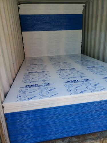 Twin Wall Polycarbonate Sheets 2.1m x 2.9m x 10mm <br/> Twin Wall Polycarbonate Sheets 2.1m x 2.9m x10 mm