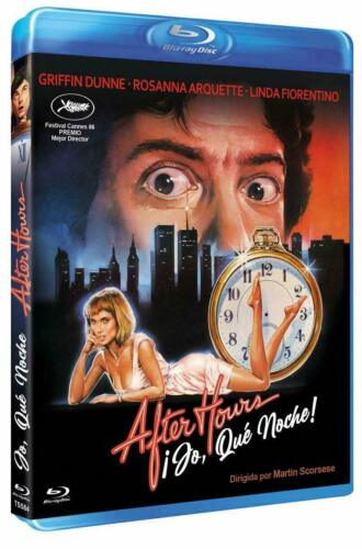 After Hours (1985) Blu Ray Griffin Dunne, Rosanna Arquette,