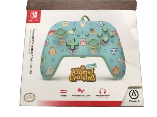 Animal Crossing Wired Controller For Nintendo Switch NEW