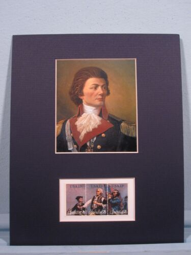 Thaddeus Kosciuszko & the stamps honoring the heroes of the American RevolutionOriginal Period Items - 10951