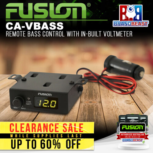 Fusion CA-VBASS Remote Bass Control with In-built Voltmeter
