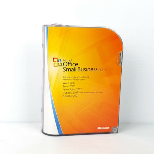 Microsoft Small Business 2007 - Word, Excel, Publisher - Retail Pack