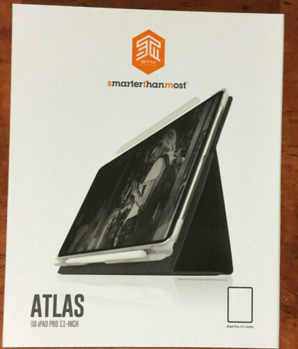 """STM Atlas Smart Charcoal Case / Cover for Apple iPad Pro 11"""""""