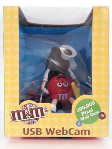 M&M's USB WEBCAM STREAM VIDEO Or SEND PICTURES M9CC1 ABSOLUTELY BRAND NEW