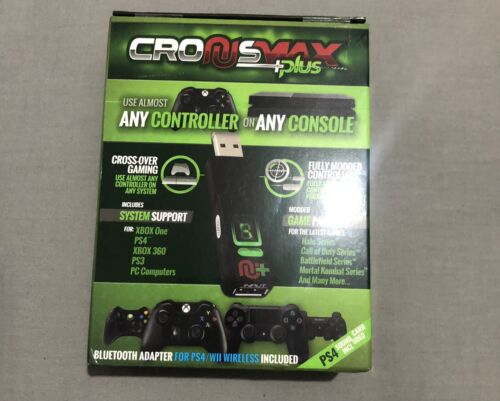 Official CronusMAX PLUS 2019 Controller Adapter Rapid Fire PS4 Xbox One X 360