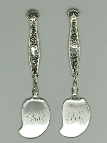 Hyperion by Whiting div of Gorham Sterling Silver pair of small Spreaders 4.25""