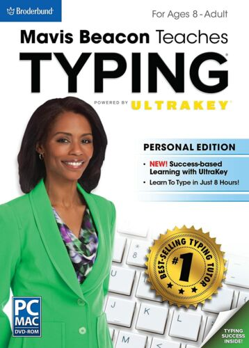 Mavis Beacon Teaches Typing Powered by UltraKey -For ages 8 to adult