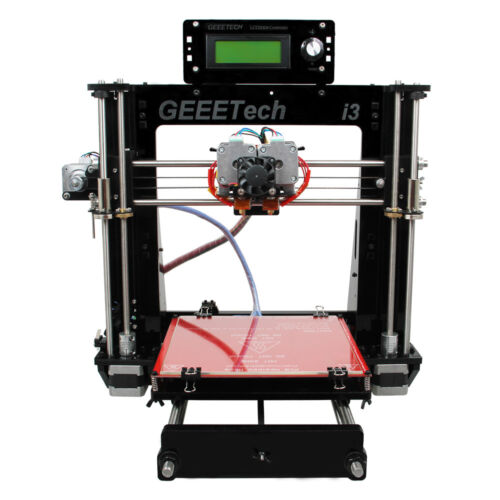 I3 Prusa Pro C 3D Printer Kit 2 in 1 Mixed Color MK8 LCD2004 From US
