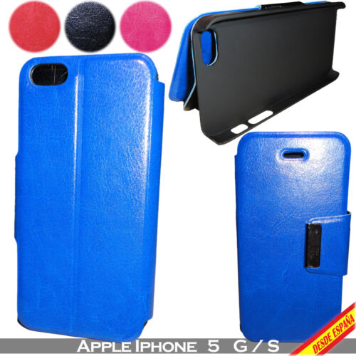 Cover PU Leather For Apple IPHONE 5 G/S 5G 5S Cover Case Leather Support