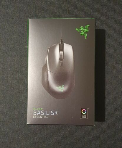 Basilisk Essential Right Handed Wired Gaming Esports Mouse - Sealed + BNIB