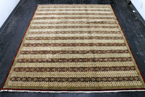 8X10 ONE IN A MILLION MINT 200+KPSI HAND KNOTTED WOOL PAK TABRIZZ ORIENTAL RUG