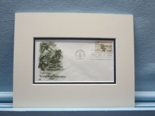 Honoring World War I Veterans & First Day Cover of the WWI Veterans StampReproductions - 156441