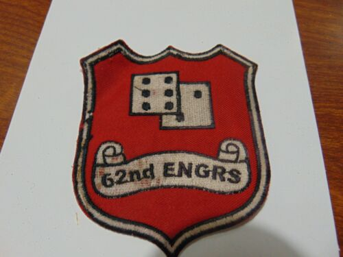 Military Patch Old Vietnam Era 62nd Engineers