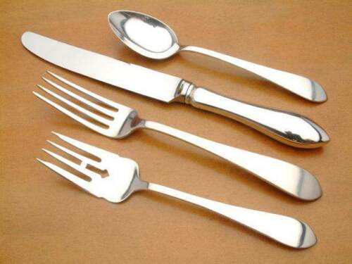Pointed Antique by Reed & Barton Sterling  4 Piece Place Setting, french knife