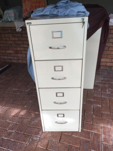 Office storage colour bond filing cabinets to with lock up keys