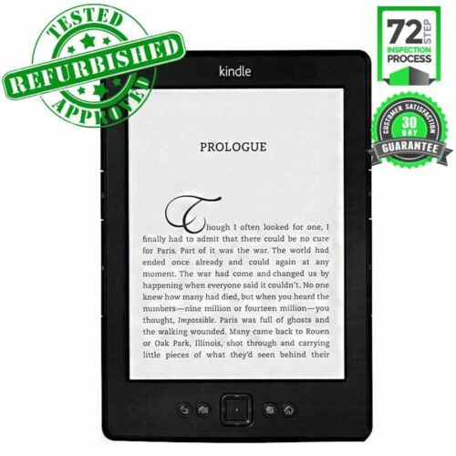 KINDLE EREADER E-READER HIGH RESOLUTION DISPLAY READING TABLET TOUCH SCREEN TAB