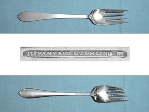 """TIFFANY & CO STERLING 6 3/4"""" SALAD FORK(S) ~ FANEUIL ~ NO MONO"""