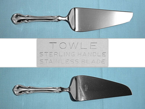 """TOWLE STERLING 10 3/8"""" PIE & CAKE SERVER ~ FRENCH PROVINCIAL ~ NO MONO"""