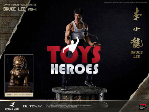 BLITZWAY BRUCE LEE VERSION 4 HYBRID TYPE SUPERB SCALE STATUE 1/4 Coupon