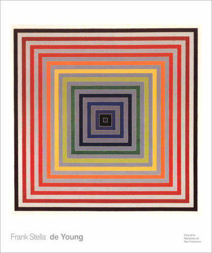 Frank STELLA Letter On The Blind II Abstract Poster 27-1/4 x 24