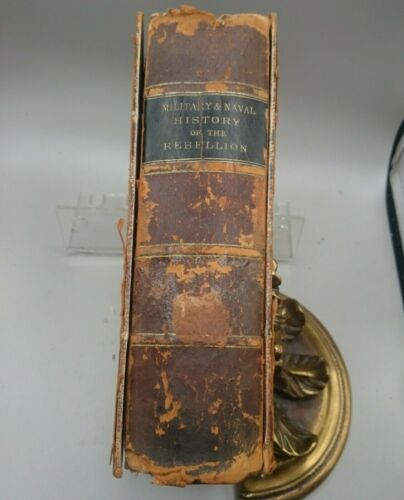 1866 Military and Naval History of the Rebellion in the U.S., Tenney Railway MapBooks - 13959