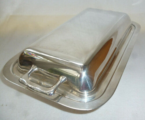 ANTIQUE SILVER 28cm ENTREE DISH & COVER - Imperial EPNS A1 - very good condition