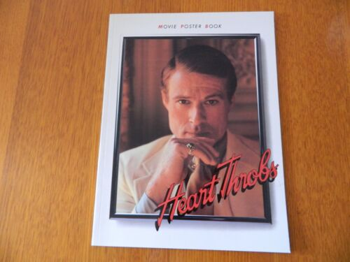 Vintage Hollywood Movie Poster Book Heart Throbs By Tim Pulleine Edition  1985