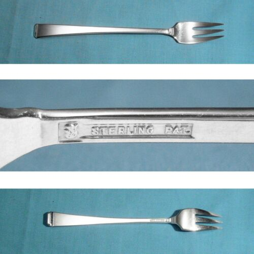 "TOWLE STERLING 5 3/4"" SEAFOOD / COCKTAIL FORK(S) ~ CRAFTSMAN ~ NO MONO"
