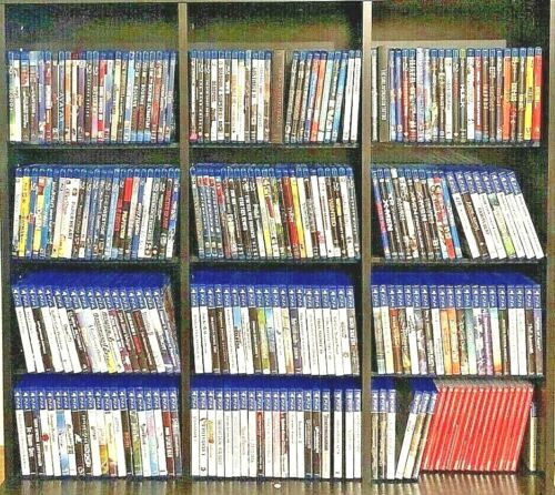 PLAYSTATION 3 & 4 GAMES HUGE LOT NEW/USED YOU PICK EM PS4 GAMES CLEANED/TESTED