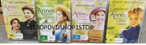 Anne Of Green Gables 4 DVD Collection Brand New Unsealed Australian R4