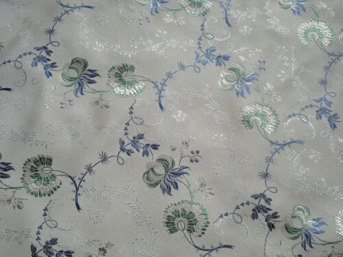 antique french 18 th c style silk blend brocade