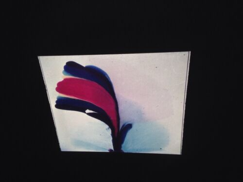 """Paul Jenkins """"Phenomena Port Of Call"""" 35mm Art Slide Abstract Expressionism"""
