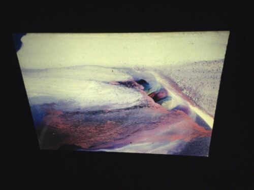"""Paul Jenkins """"Phenomena All Stand Still"""" 35mm Slide  Abstract Expressionism"""