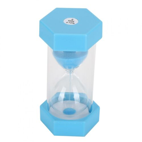 Sand Hourglass Safe And Anti‑Fall Sand Clock Excellent Plastic Material Time 5