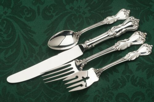 Marlborough Sterling Silver by Reed & Barton 4pc DINNER size Setting, French