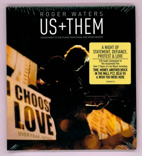 ROGER WATERS - US + THEM / 2 CD LIVE SOUNDTRACK TO THE FILM / NEUF Pink Floyd