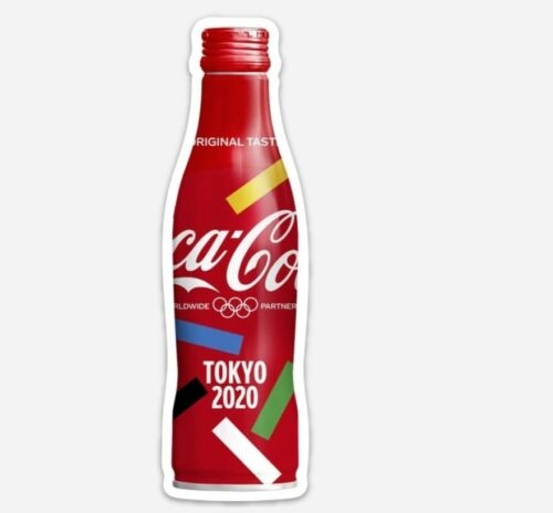 Coca Cola 2020 Tokyo Olympic Bottle Magnet (Size 38 mm x 125 mm) - Very Rare