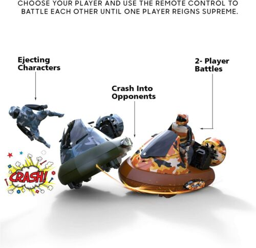 New Remote Control Bumper Cars with 2 Radio Control Vehicles Toy