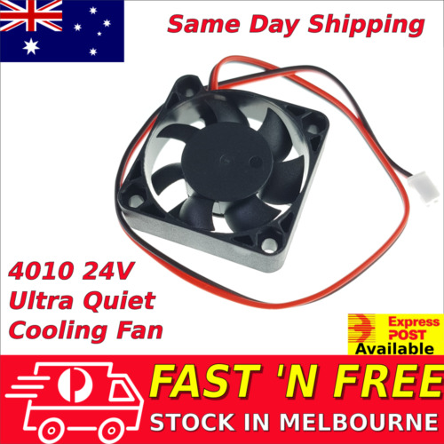 4010 24V Brushless Ultra Quiet Cooling fan 40mm