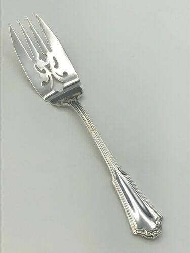"""Jacobean by Reed & Barton Sterling Silver Meat Serving Fork 8"""""""