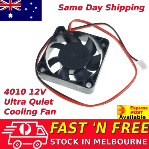 4010 12V Brushless Ultra Quiet Cooling fan 40mm