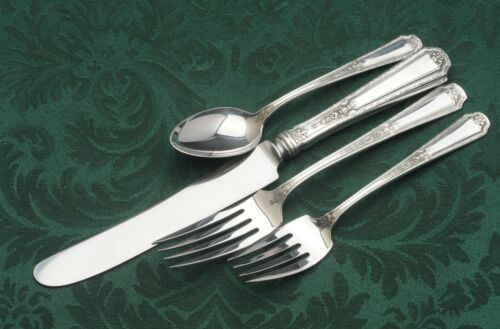 Louis XIV by Towle Antique Sterling Silver 4 Piece Place Setting, luncheon size