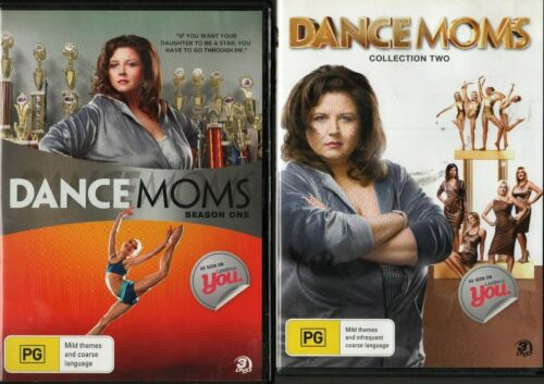 DANCE MOMS S1 & S2. Abby Lee Miller. Reality Show. 25 S1&2 Eps on 6 R4 DVDs