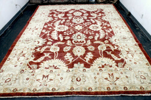 10X13 1960's FINE HAND KNOTTED 200+KPSI VEGETABLE DYE WOOL TABRIZZ ORIENTAL RUG