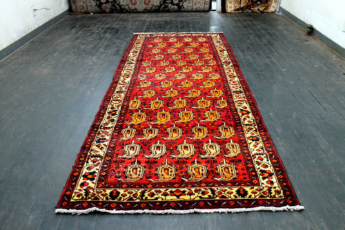10X4 1960's MASTERPIECE MINT AND SUPERB HAND KNOTTED MALAYERR ORIENTAL WOOL RUG