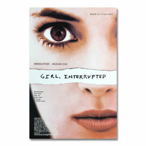 Girl Interrupted Movie Poster Film Art Print Wall Picture Room Decoration 24x36