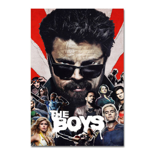 The Boys TV Series Poster Wall Art HD Print Picture Home Room Decor 24x36 inch