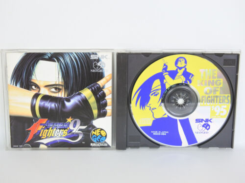 The King Of Fighters 95 neo geo CD snk Kof Japon Ncd