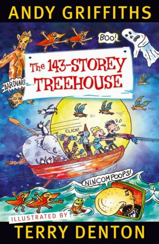 The 143-Storey Treehouse by Andy Griffiths (Paperback) FREE Shipping