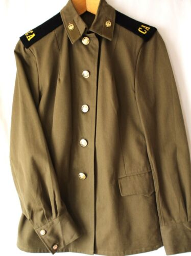 SOVIET ARMY FEMALE ENLISTED EVERY DAY UNIFORM - Great Item! Other Militaria - 135